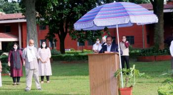 Celebration of 74th Independence Day at Indian Council of Forestry Research and Education, Dehradun on 15th August, 2020