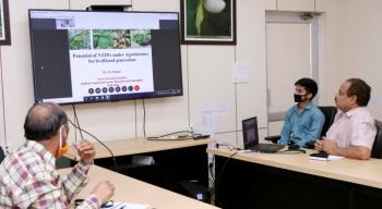 "Webinar on ""Agroforestry and Livelihood Generation"""