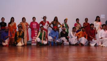 Cultural programme during 18th Annual Games and Sports meet of FRI (Deemed) University