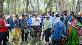 "Workshop cum training on ""Methods to Establish Permanent Plots to study Forest Dynamics"" held at Mudumalai during 19-21 February 2020"