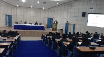 Dr. Suresh Gairola, DG ICFRE addresses B.Sc. Forestry Students from Kathmandu Forestry College, Nepal on 29 Feb, 2020