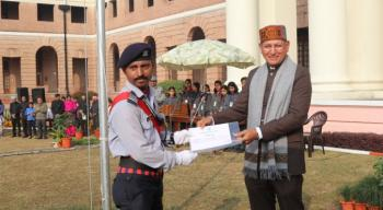 Republic Day Celebration at FRI, Dehradun on 26th January, 2020