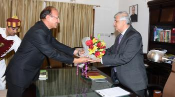 meeting with Dr. Krishan Kant Paul, Governor of Uttarakahand