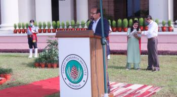 Celebration of 74th Independence Day at Forest Research Institute, Dehradun on 15th August, 2020