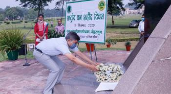 National Forest Martyrs Day observed at Forest Research Institute, Dehra Dun on 11th September, 2020